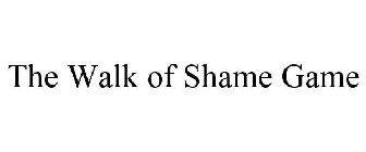 The Walk of Shame Game