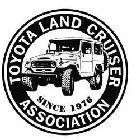 TOYOTA LAND CRUISER ASSOCIATION SINCE 1976