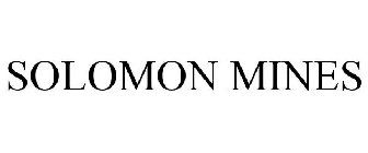 SOLOMON MINES