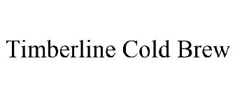 TIMBERLINE COLD BREW
