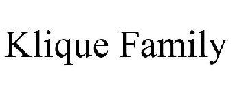 Klique Family