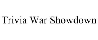 Trivia War Showdown