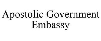 Apostolic Government Embassy