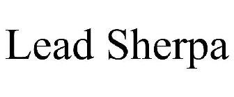 Lead Sherpa