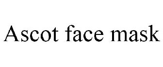 Ascot face mask