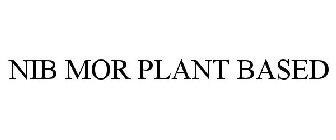 NIB MOR PLANT BASED