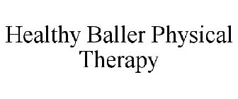 Healthy Baller Physical Therapy