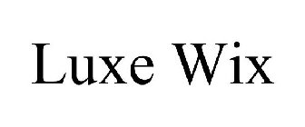 LUXE WIX