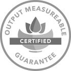 OUTPUT MEASURABLE GUARANTEE CERTIFIED