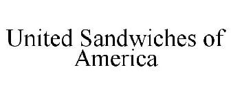 UNITED SANDWICHES OF AMERICA