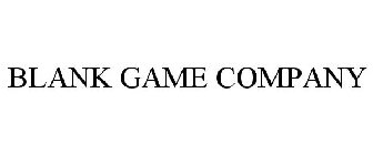 BLANK GAME COMPANY
