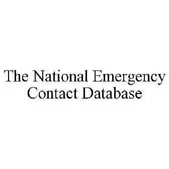the national emergency contact database trademark serial number