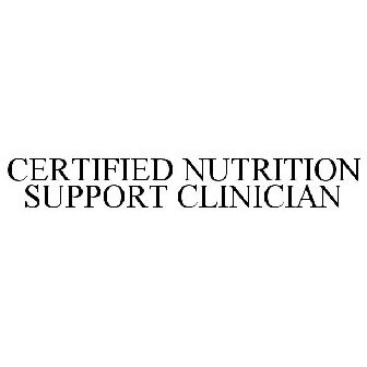 CERTIFIED NUTRITION SUPPORT CLINICIAN Trademark of