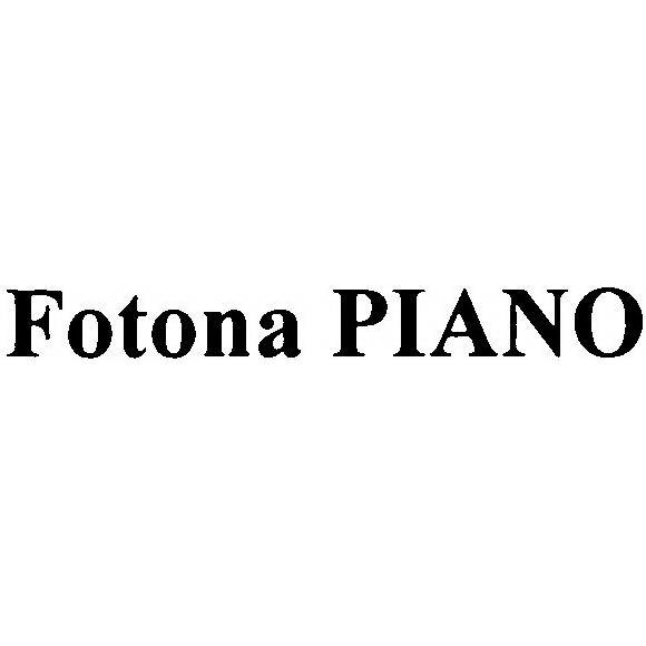 FOTONA PIANO Trademark of FOTONA d d  - Registration Number