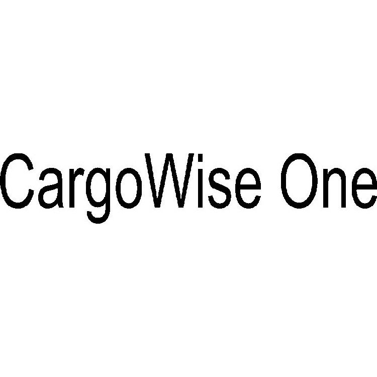 CARGOWISE ONE Trademark of WiseTech Global Limited