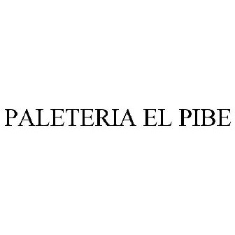 Paleteria El Pibe Trademark Of Paleteria El Pibe Inc