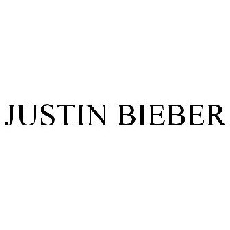 1e01b24138106 JUSTIN BIEBER Trademark of Bieber Time Holdings