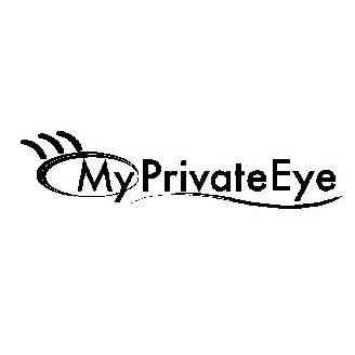 MY PRIVATE EYE Trademark of Santarlas, Ph.D., Thomas