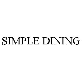 Simple Dining Trademark Of Ross S Inc Registration Number 5059761 Serial 85824524 Justia Trademarks