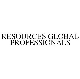 RESOURCES GLOBAL PROFESSIONALS Trademark of Resources
