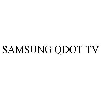 Samsung qdot tv trademark of samsung electronics co ltd for Mirror for samsung tv license key