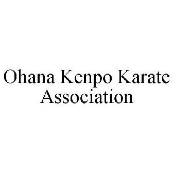 OHANA KENPO KARATE ASSOCIATION Trademark Application of