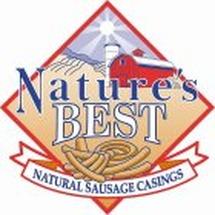 NATURE'S BEST NATURAL SAUSAGE CASINGS Trademark of Van