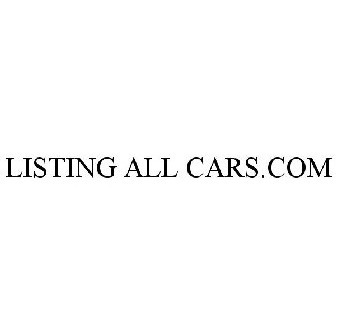 Listing All Cars >> Listing All Cars Com Trademark Of Exit Solutions Inc