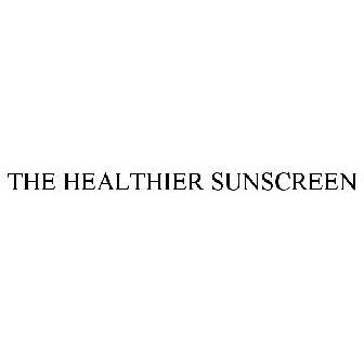 THE HEALTHIER SUNSCREEN Trademark of FALLIEN COSMECEUTICALS