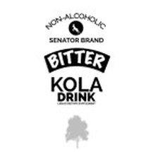 NON-ALCOHOLIC SENATOR BRAND BITTER KOLADRINK LIQUID DIETARY