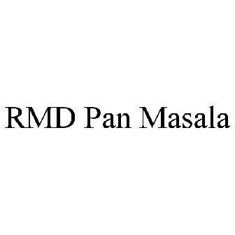 RMD PAN MASALA Trademark of R  M  DHARIWAL (HUF