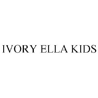 1d1a03677 IVORY ELLA KIDS Trademark Application of Ivory Ella