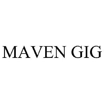 MAVEN GIG Trademark - Serial Number 87446290 :: Justia