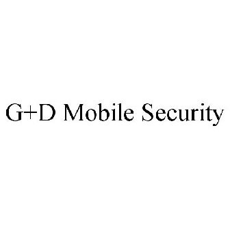 G+D MOBILE SECURITY Trademark of Giesecke+Devrient Mobile