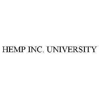 HEMP INC  UNIVERSITY Trademark of Hemp Inc  - Registration