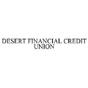 Desert Financial Credit Union Trademark Application Of Desert