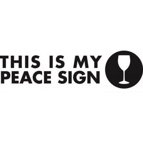 This Is My Peace Sign Trademark Application Of Vineburg Llc Serial